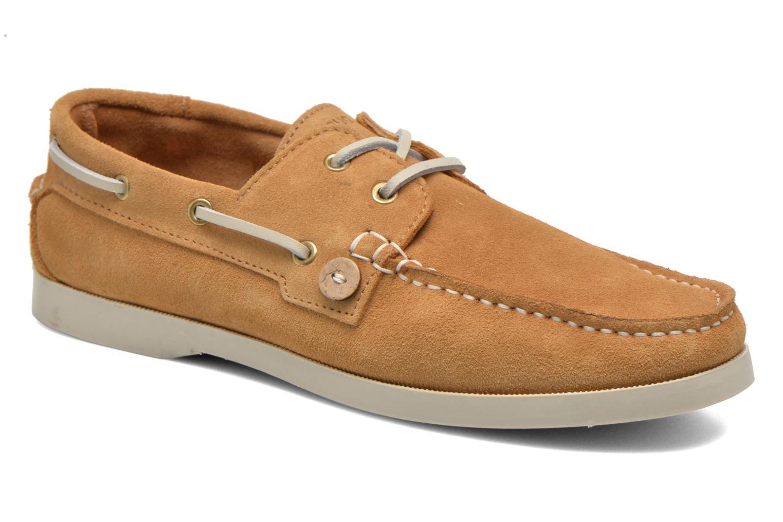 Chaussures à lacets Faguo Larch Beige vue détail/paire