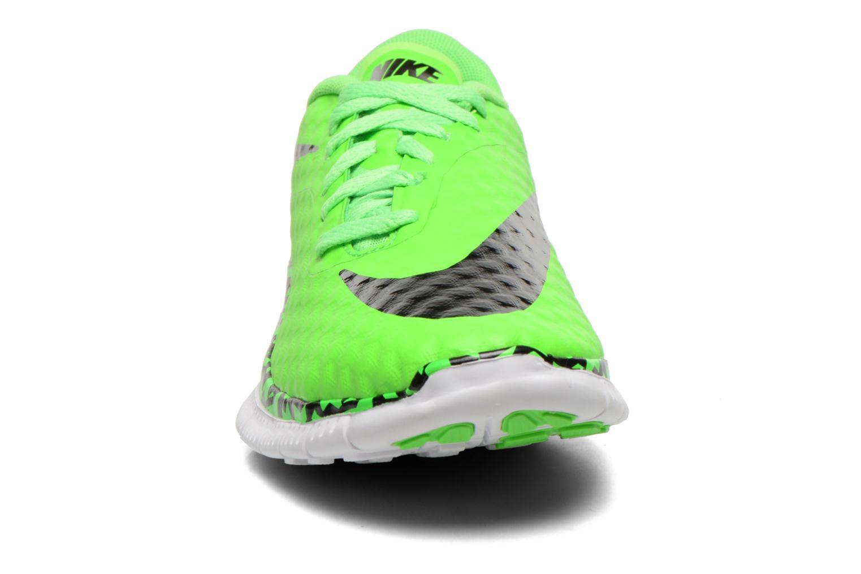 Sneaker Nike NIKE FREE HYPERVENOM (GS) grün schuhe getragen
