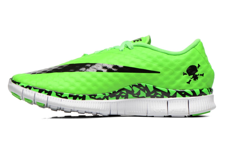 Sneaker Nike NIKE FREE HYPERVENOM (GS) grün ansicht von vorne