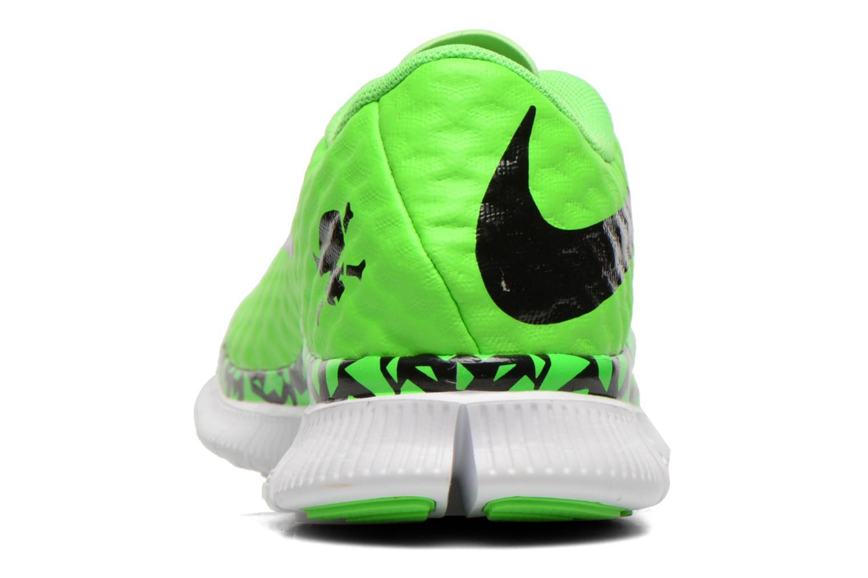 Sneaker Nike NIKE FREE HYPERVENOM (GS) grün ansicht von rechts