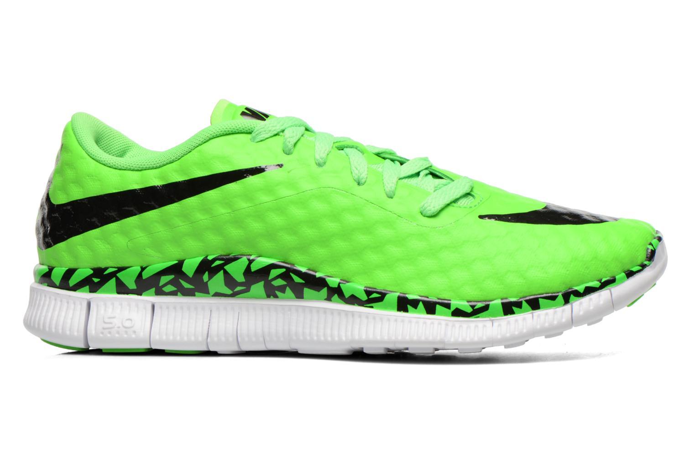 Sneaker Nike NIKE FREE HYPERVENOM (GS) grün ansicht von hinten