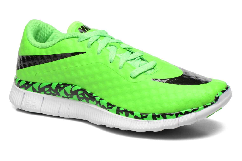 Sneaker Nike NIKE FREE HYPERVENOM (GS) grün detaillierte ansicht/modell