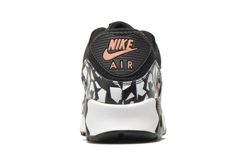 Sneaker Nike AIR MAX 90 FB (GS) schwarz ansicht von rechts