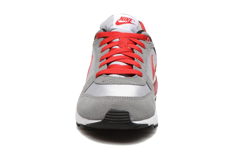 NIKE NIGHTGAZER (GS) Wolf Grey/Gym Red-Cl Gry-White