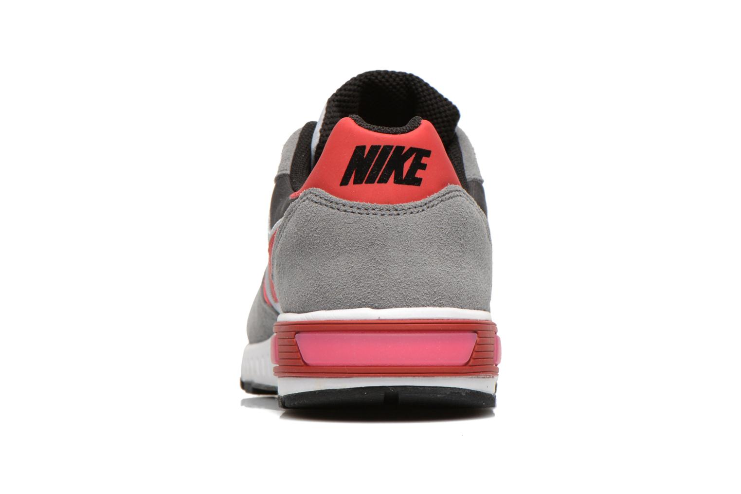NIKE NIGHTGAZER (GS) Wolf Grey/Gym Red-Cl Gry-White