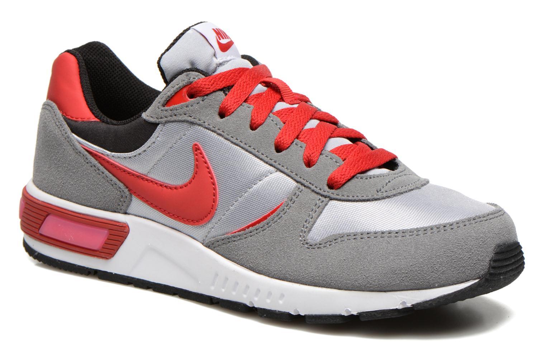 Trainers Nike NIKE NIGHTGAZER (GS) Grey detailed view/ Pair view