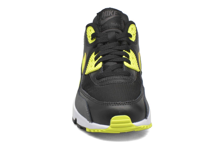 Trainers Nike NIKE AIR MAX 90 MESH (GS) Black model view