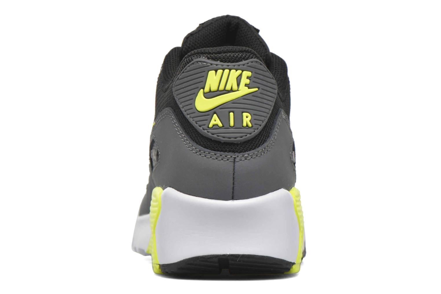 Trainers Nike NIKE AIR MAX 90 MESH (GS) Black view from the right