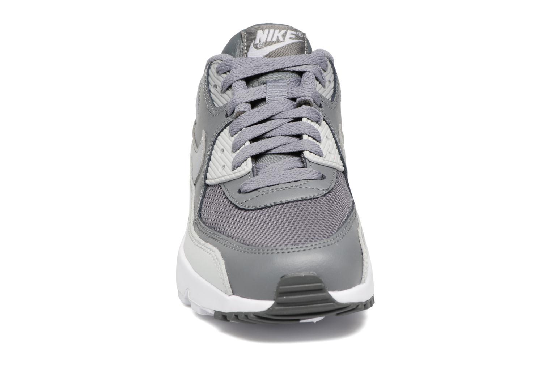 Sneakers Nike NIKE AIR MAX 90 MESH (GS) Grå bild av skorna på