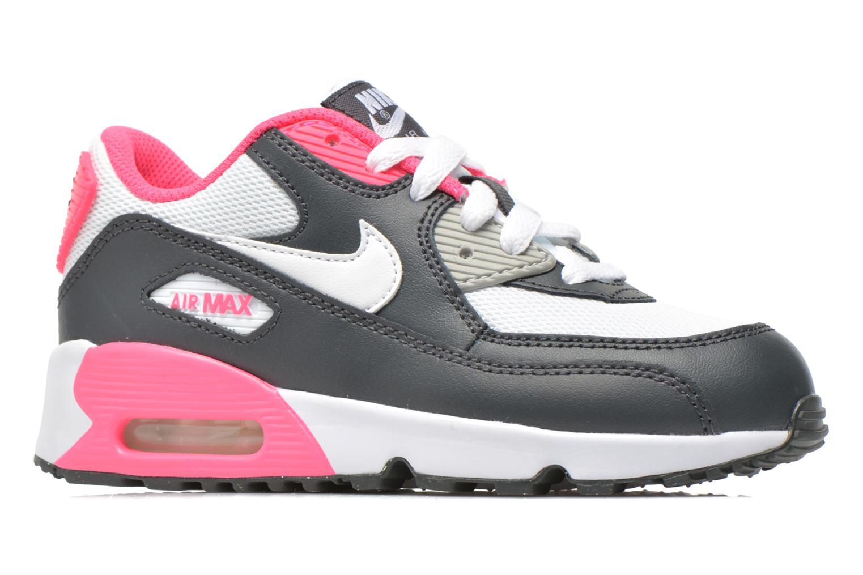 Sneaker Nike NIKE AIR MAX 90 MESH (PS) grau ansicht von hinten
