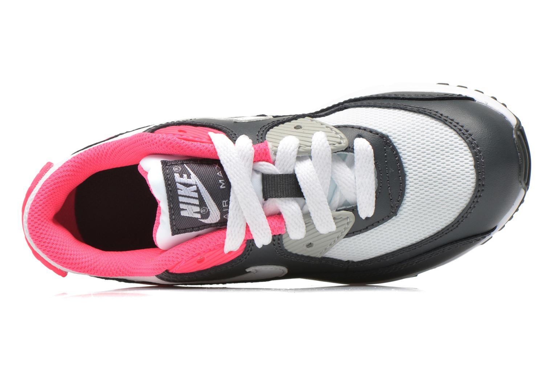 Sneaker Nike NIKE AIR MAX 90 MESH (PS) grau ansicht von links