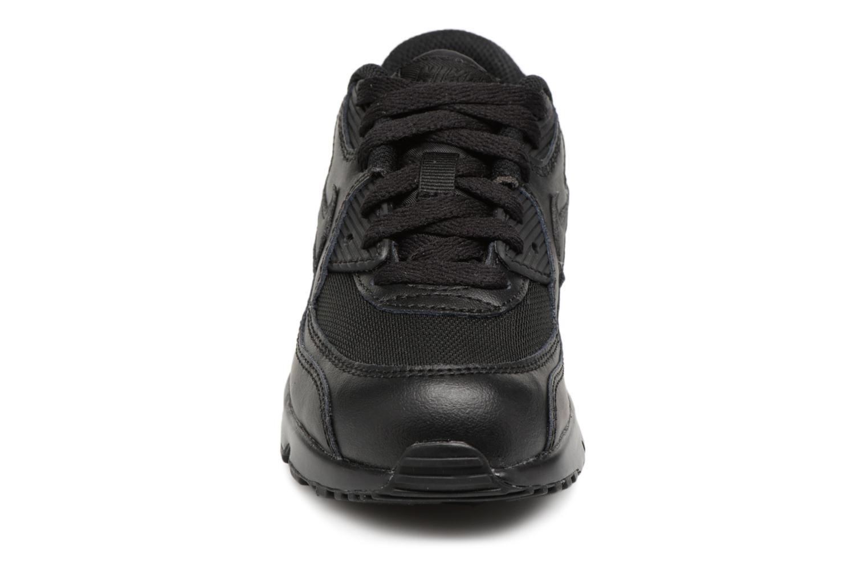 Sneakers Nike NIKE AIR MAX 90 MESH (PS) Svart bild av skorna på