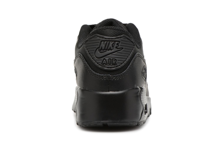 Sneakers Nike NIKE AIR MAX 90 MESH (PS) Svart Bild från höger sidan