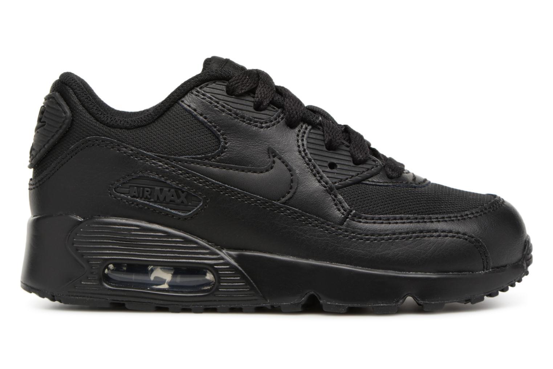 Sneakers Nike NIKE AIR MAX 90 MESH (PS) Svart bild från baksidan