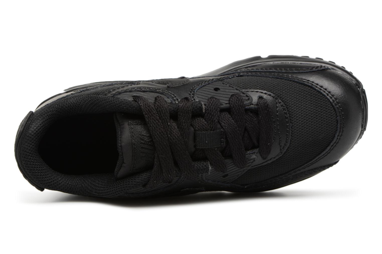 Sneakers Nike NIKE AIR MAX 90 MESH (PS) Svart bild från vänster sidan