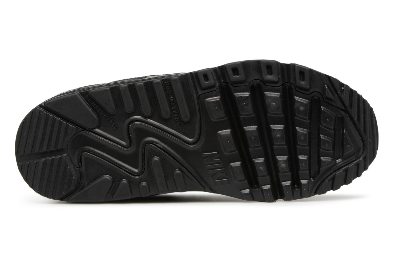Sneakers Nike NIKE AIR MAX 90 MESH (PS) Svart bild från ovan