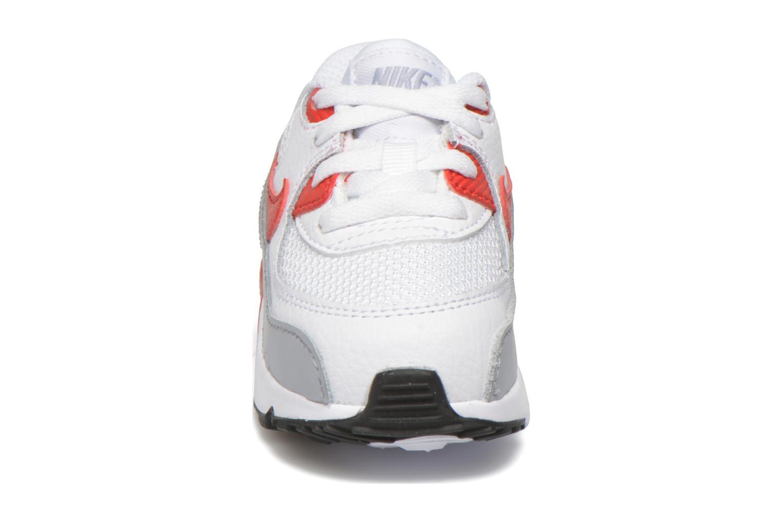 Baskets Nike NIKE AIR MAX 90 MESH (TD) Blanc vue portées chaussures