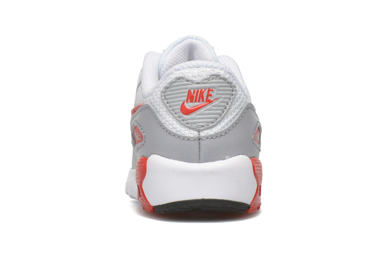 Baskets Nike NIKE AIR MAX 90 MESH (TD) Blanc vue droite