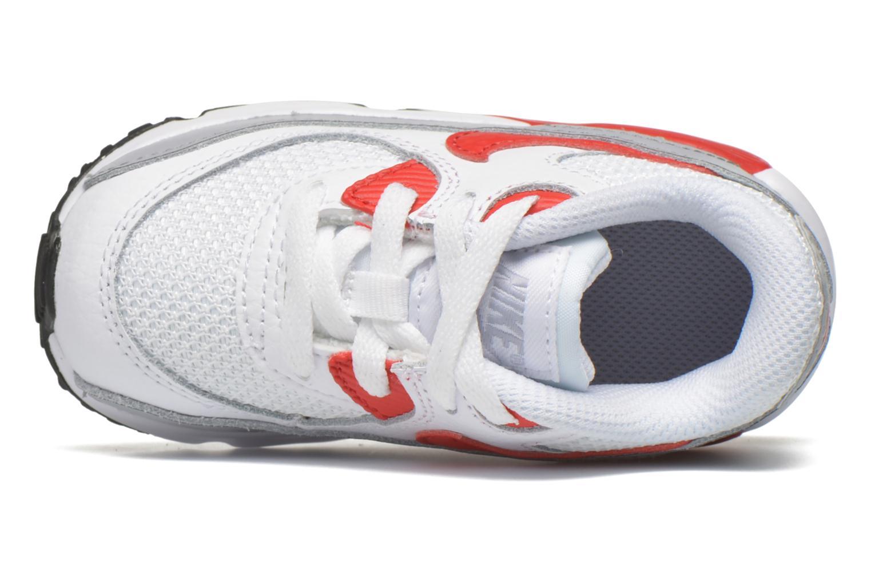 Sneaker Nike NIKE AIR MAX 90 MESH (TD) weiß ansicht von links