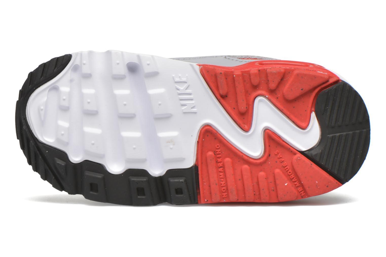 Baskets Nike NIKE AIR MAX 90 MESH (TD) Blanc vue haut