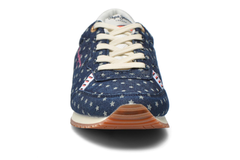 Baskets Pepe jeans Sydney Multicolore vue portées chaussures