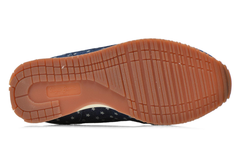Baskets Pepe jeans Sydney Multicolore vue haut