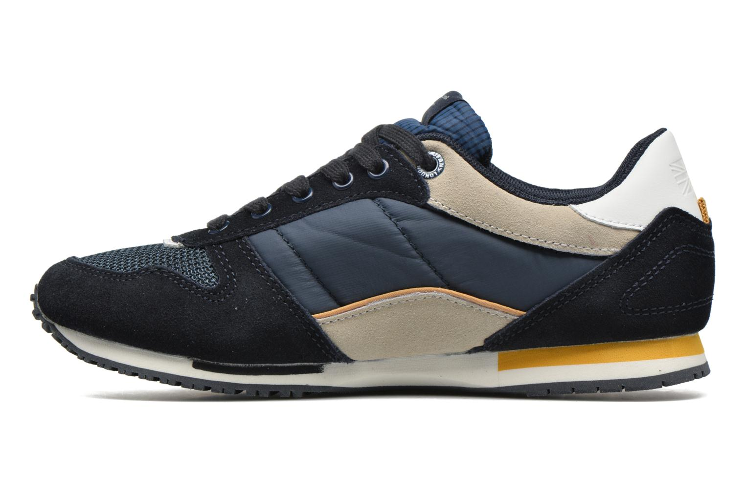 Trainers Pepe jeans Sydney Blue front view