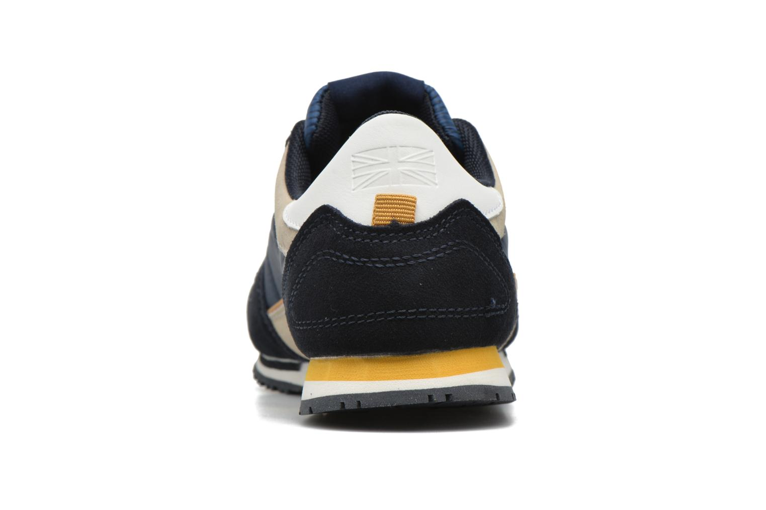 Trainers Pepe jeans Sydney Blue view from the right