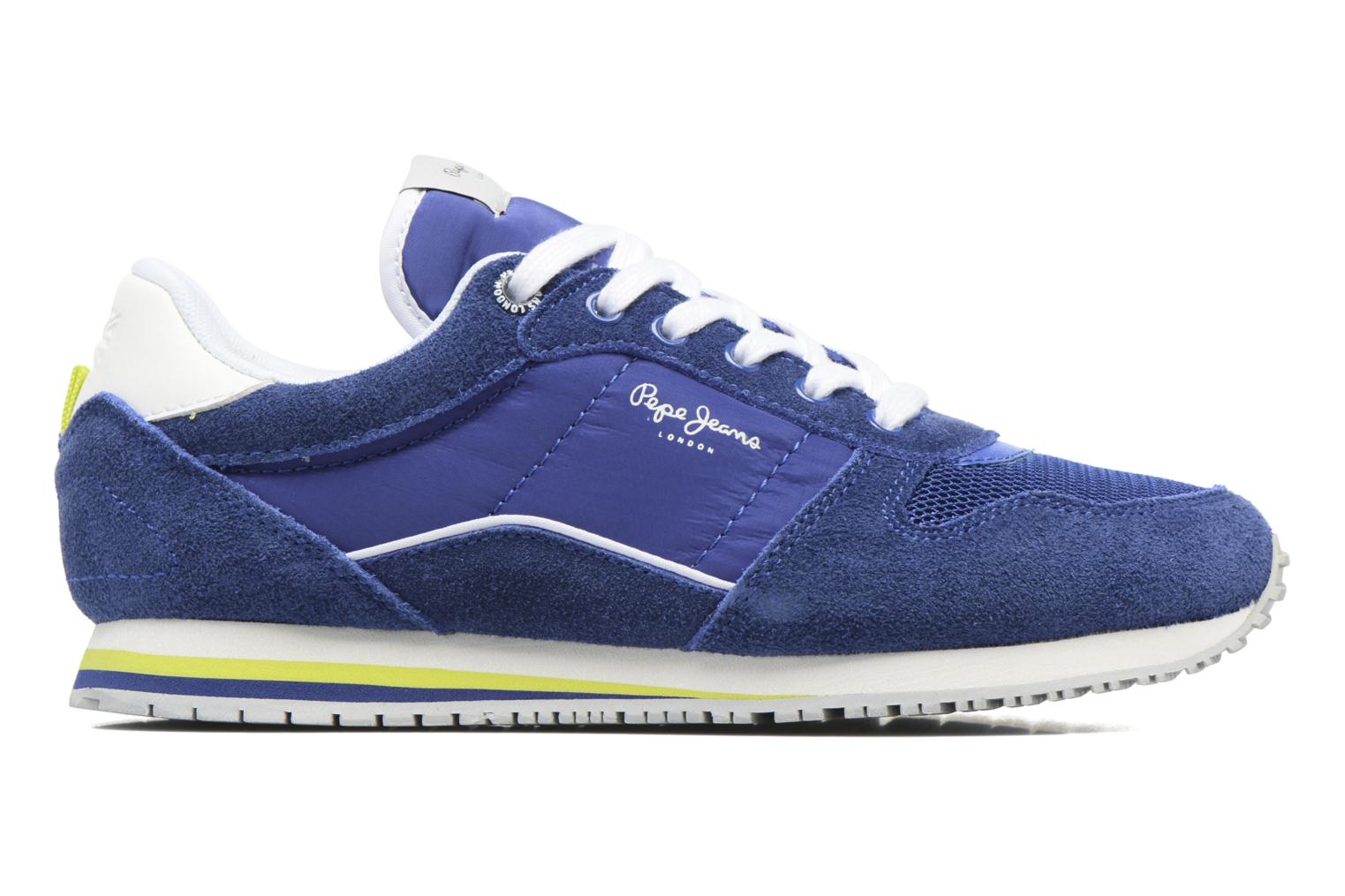 Trainers Pepe jeans Sydney Blue back view