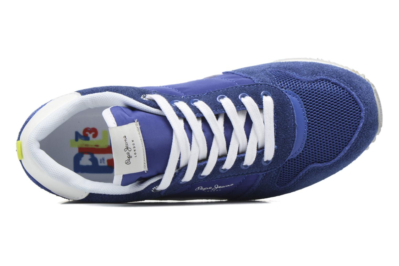 Trainers Pepe jeans Sydney Blue view from the left