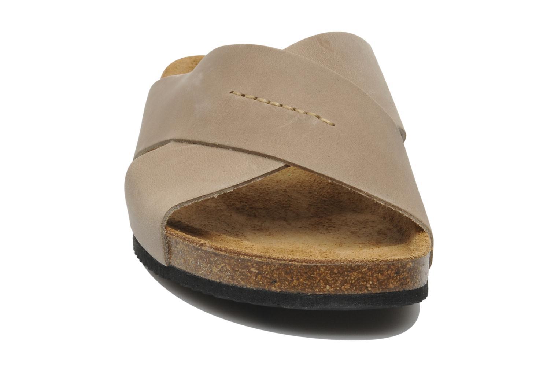Sandalen Rondinaud Trèfle beige schuhe getragen