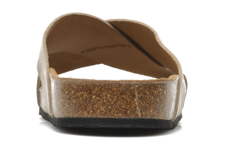 Sandalen Rondinaud Trèfle beige ansicht von rechts