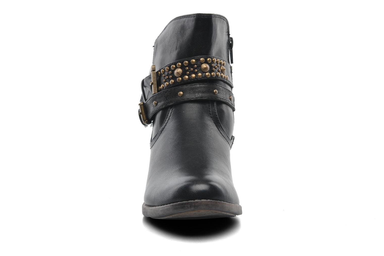 Bottines et boots Divine Factory D-rock Noir vue portées chaussures