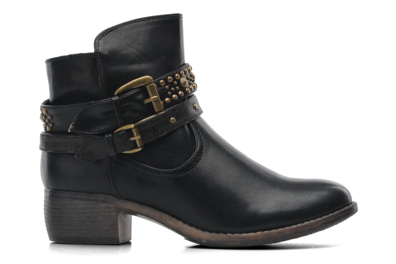 Bottines et boots Divine Factory D-rock Noir vue derrière