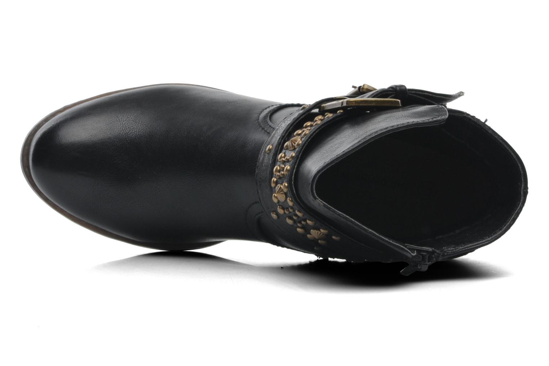 Bottines et boots Divine Factory D-rock Noir vue gauche