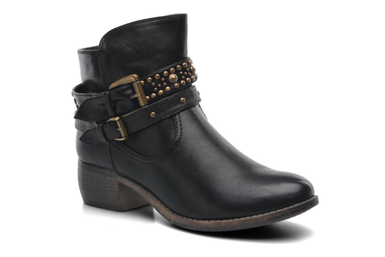 Bottines et boots Divine Factory D-rock Noir vue détail/paire