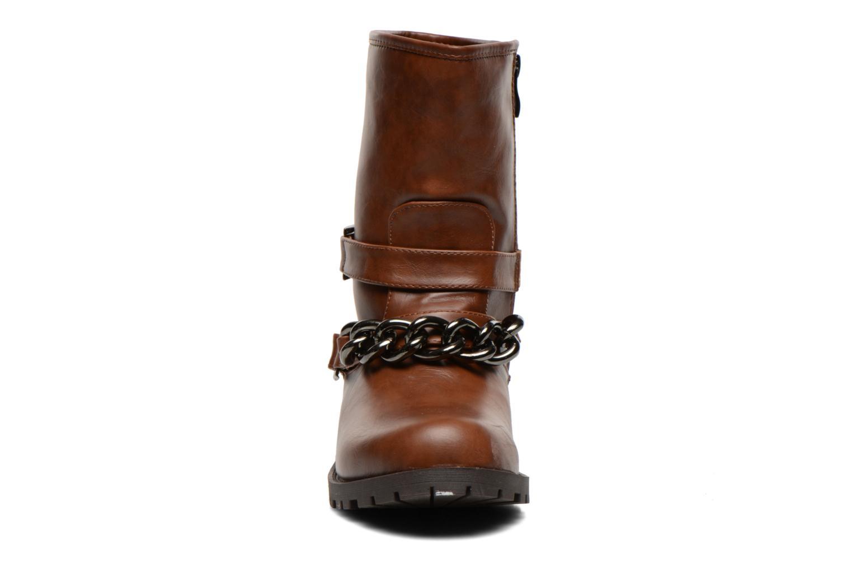 Boots en enkellaarsjes Divine Factory D-frizz Bruin model