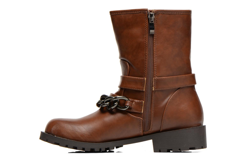 Boots en enkellaarsjes Divine Factory D-frizz Bruin voorkant