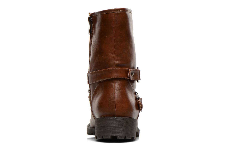 Boots en enkellaarsjes Divine Factory D-frizz Bruin rechts
