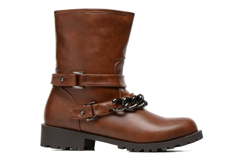 Boots en enkellaarsjes Divine Factory D-frizz Bruin achterkant