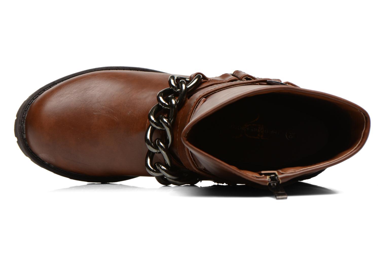 Boots en enkellaarsjes Divine Factory D-frizz Bruin links