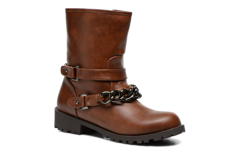 Boots en enkellaarsjes Divine Factory D-frizz Bruin detail