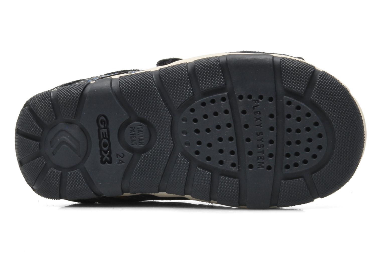 Sneaker Geox B SHAAX B. A - VIT.LISCIO+MESH blau ansicht von oben