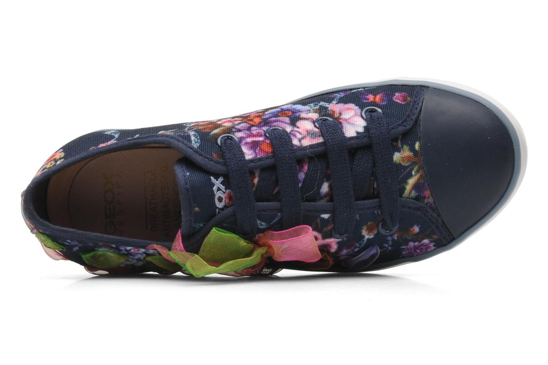 Sneakers Geox J CIAK G. B - TESS.ST. Blauw links
