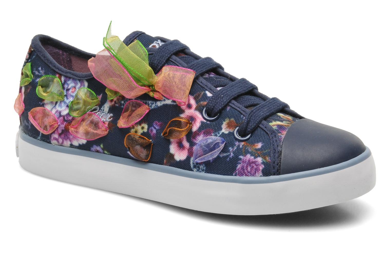Sneakers Geox J CIAK G. B - TESS.ST. Blauw detail
