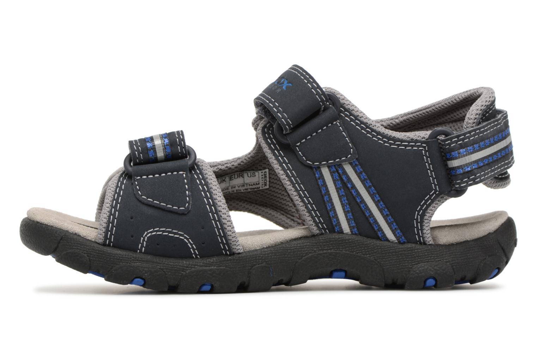 Sandali e scarpe aperte Geox J S.STRADA A J4224A Azzurro immagine frontale