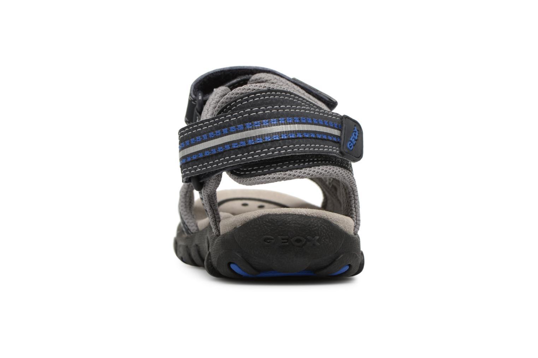 Sandali e scarpe aperte Geox J S.STRADA A J4224A Azzurro immagine destra