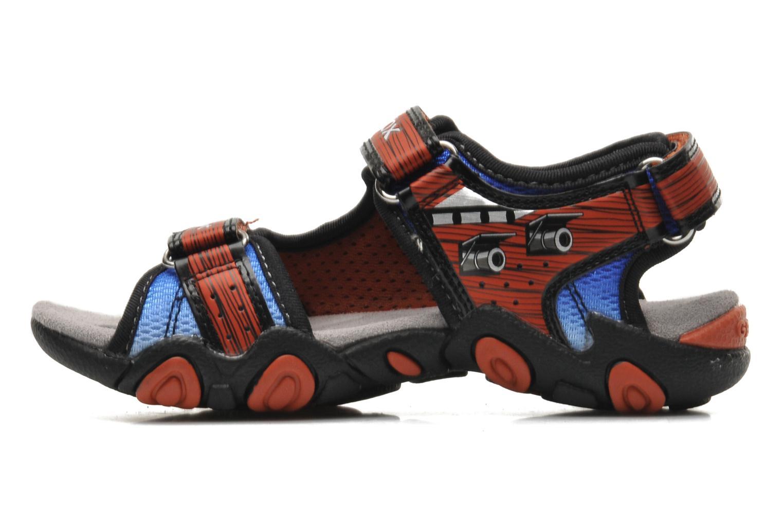 Sandales et nu-pieds Geox J SAND.STRIKE D - MESH+DBK ST Bleu vue face