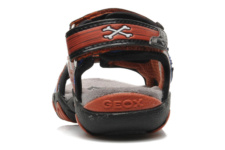 Sandales et nu-pieds Geox J SAND.STRIKE D - MESH+DBK ST Bleu vue droite