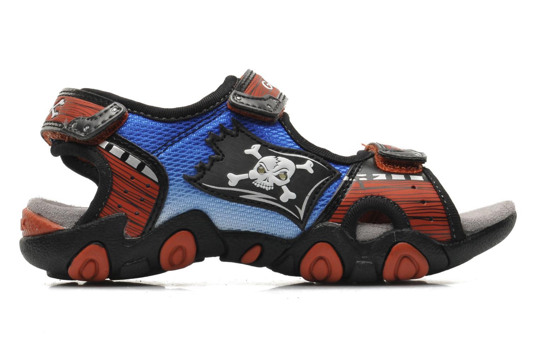 Sandales et nu-pieds Geox J SAND.STRIKE D - MESH+DBK ST Bleu vue derrière
